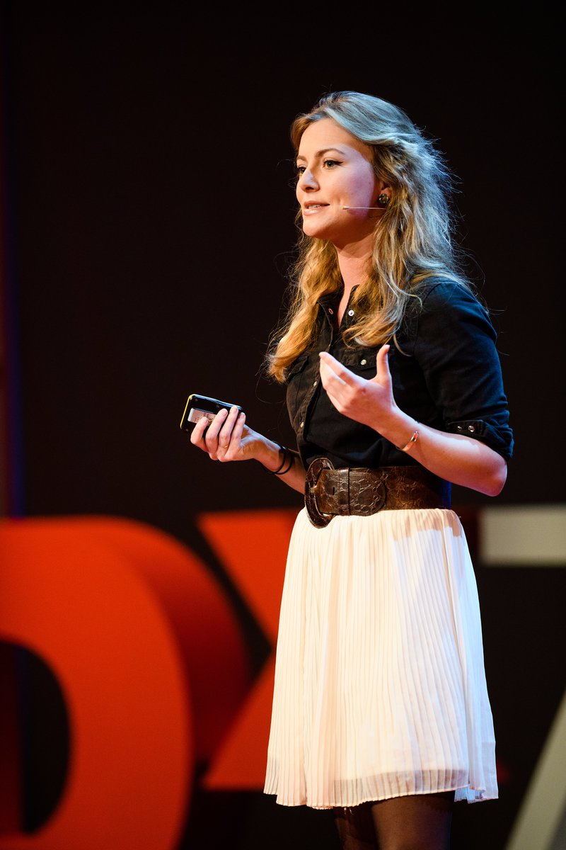 Liska Bernet at TEDx Zurich in 2017