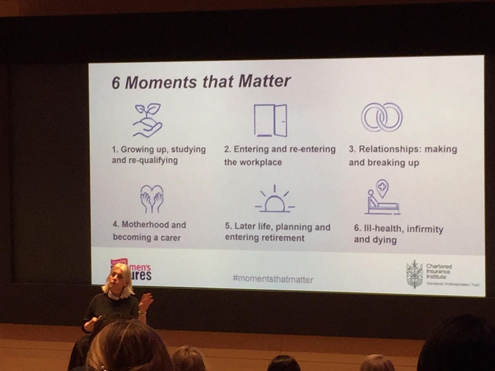 Jane Portas presenting the IWF findings.
