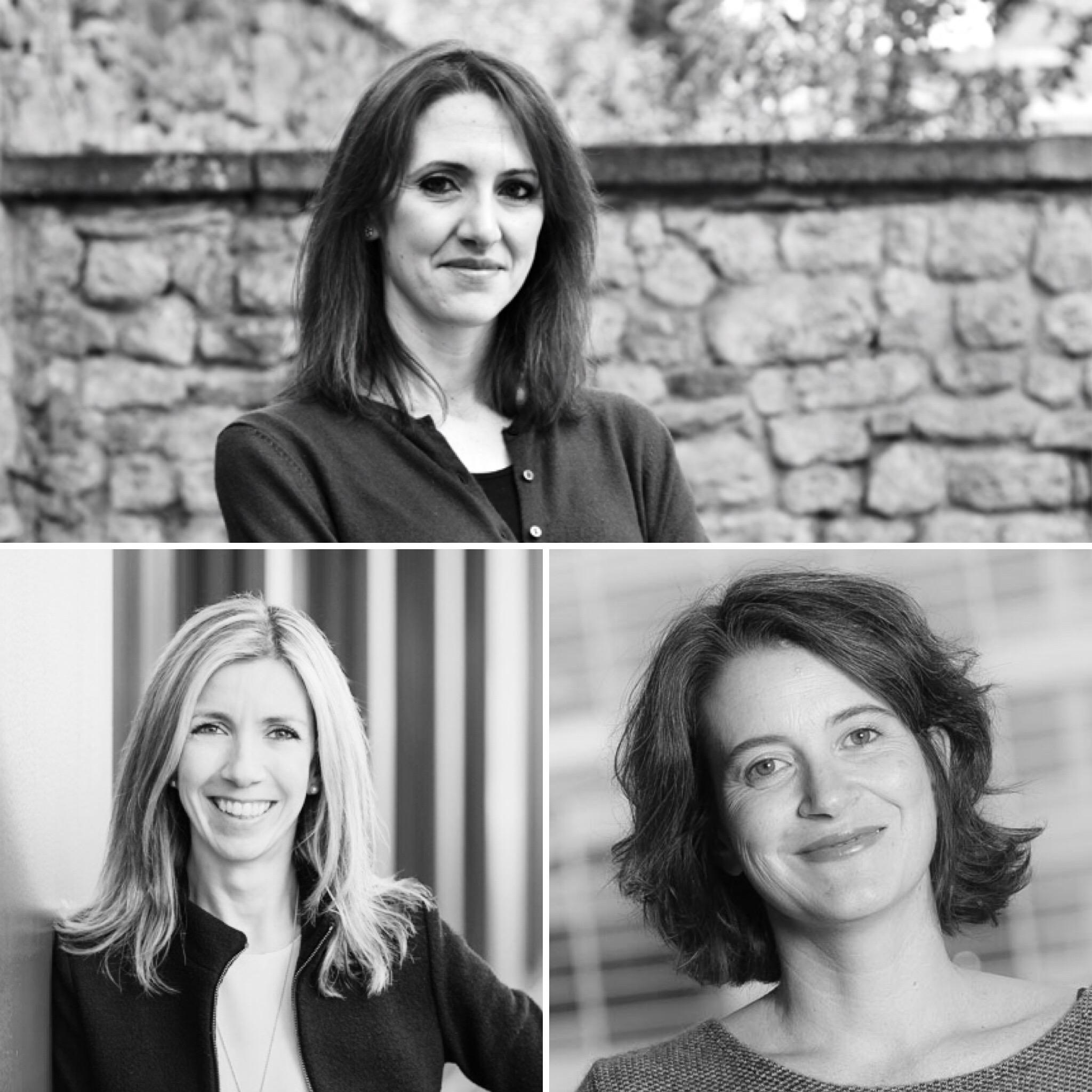 Clockwise, Mariarosaria Taddeo, Riccarda Zezza, Manuela Andaloro