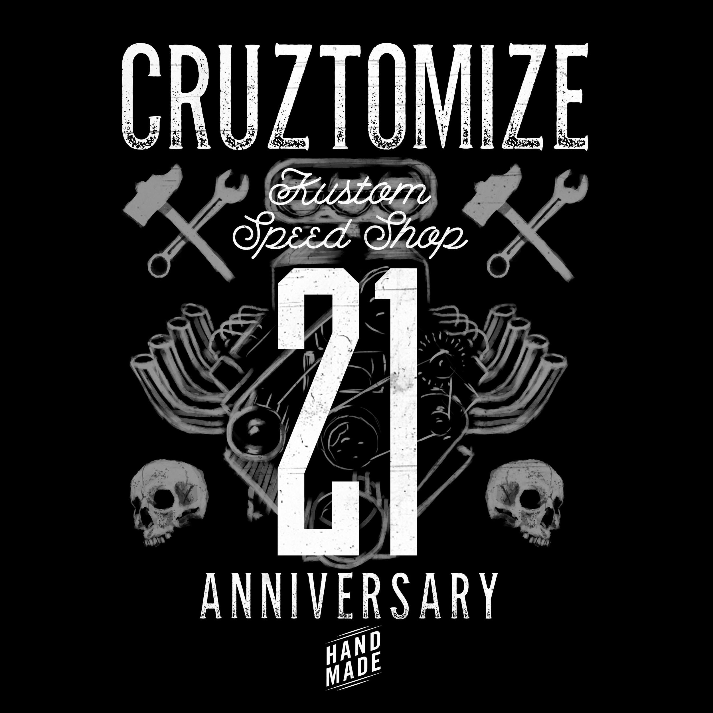 21 Anniversary Poster/Shirt Design
