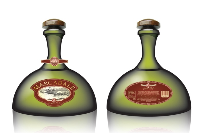 I worked on the packaging design for Margadale Whisky.