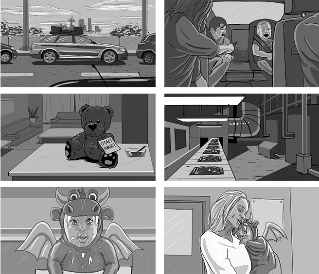 Showmax storyboards