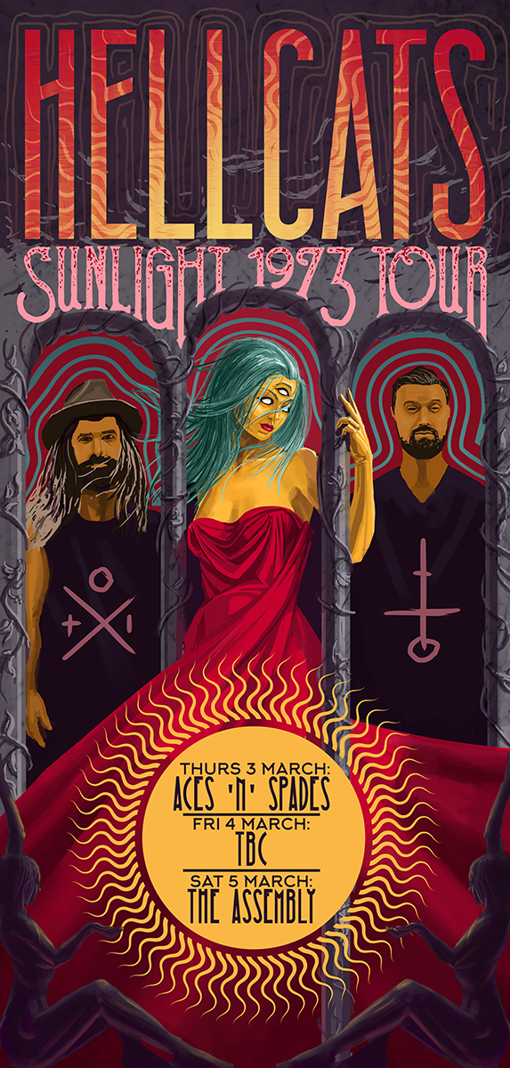 Hellcats Tour Poster