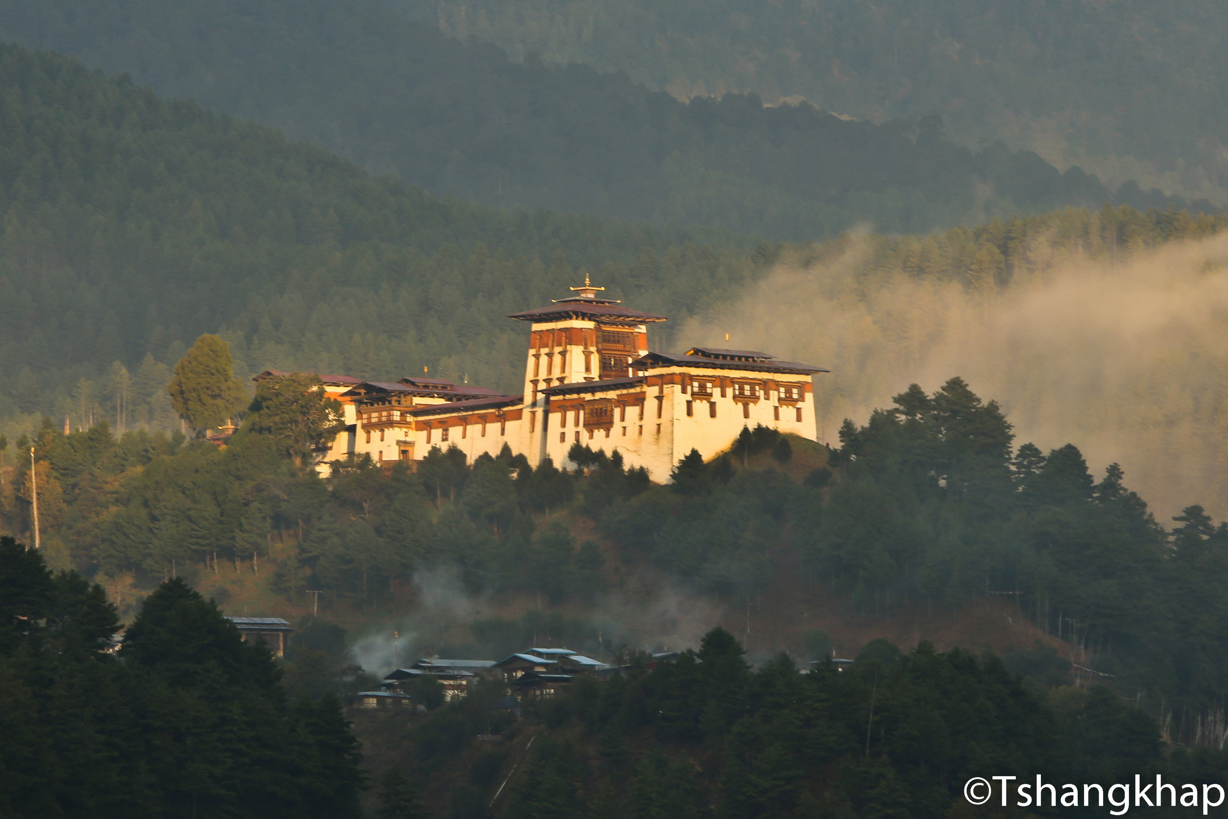Jakar Dzong - The castle of white bird