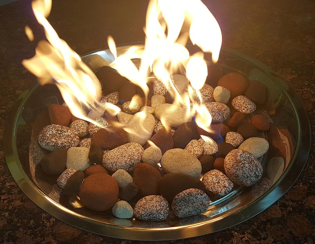 Bracebridge stones burning
