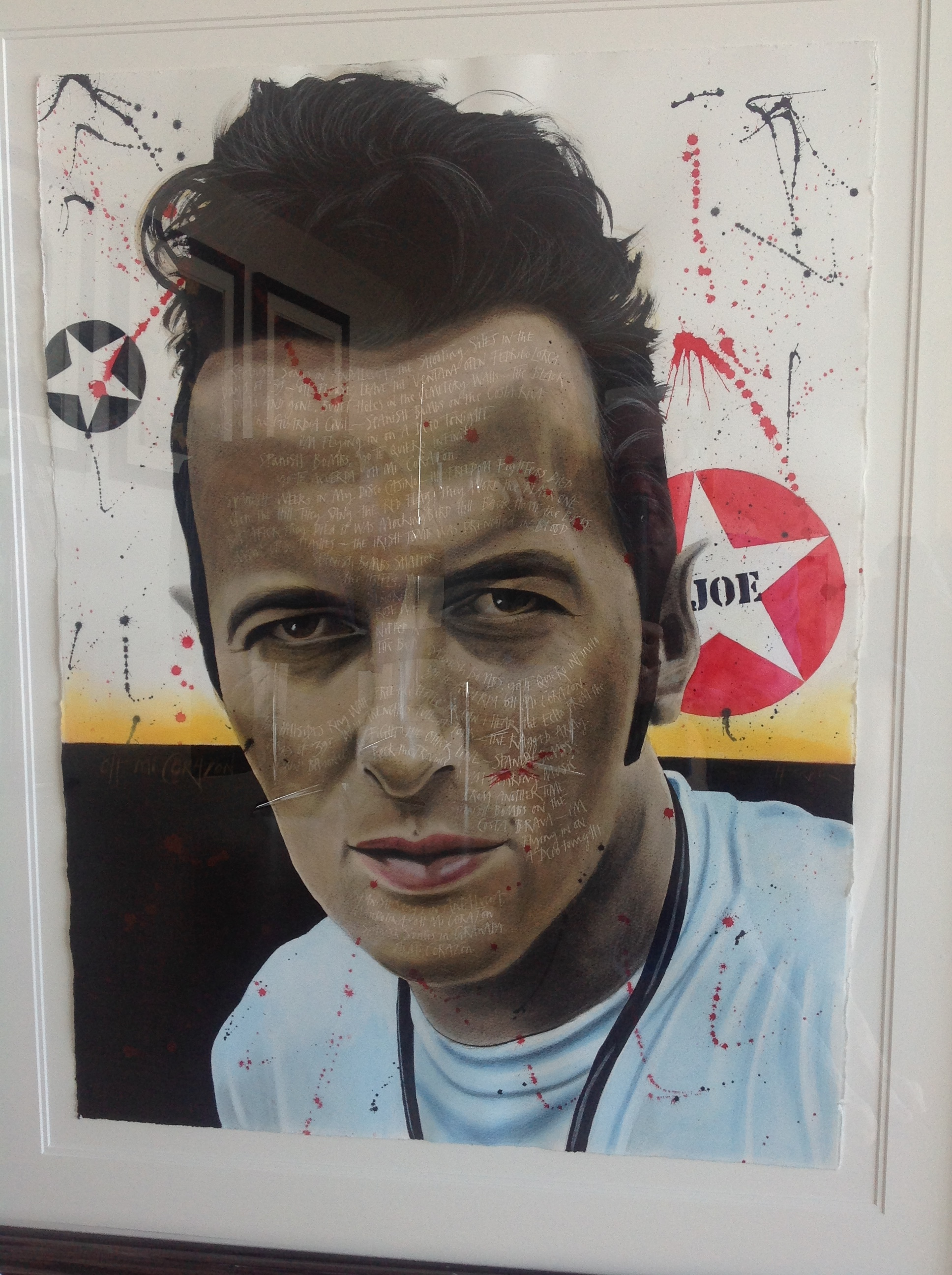Joe Strummer mounted.JPG