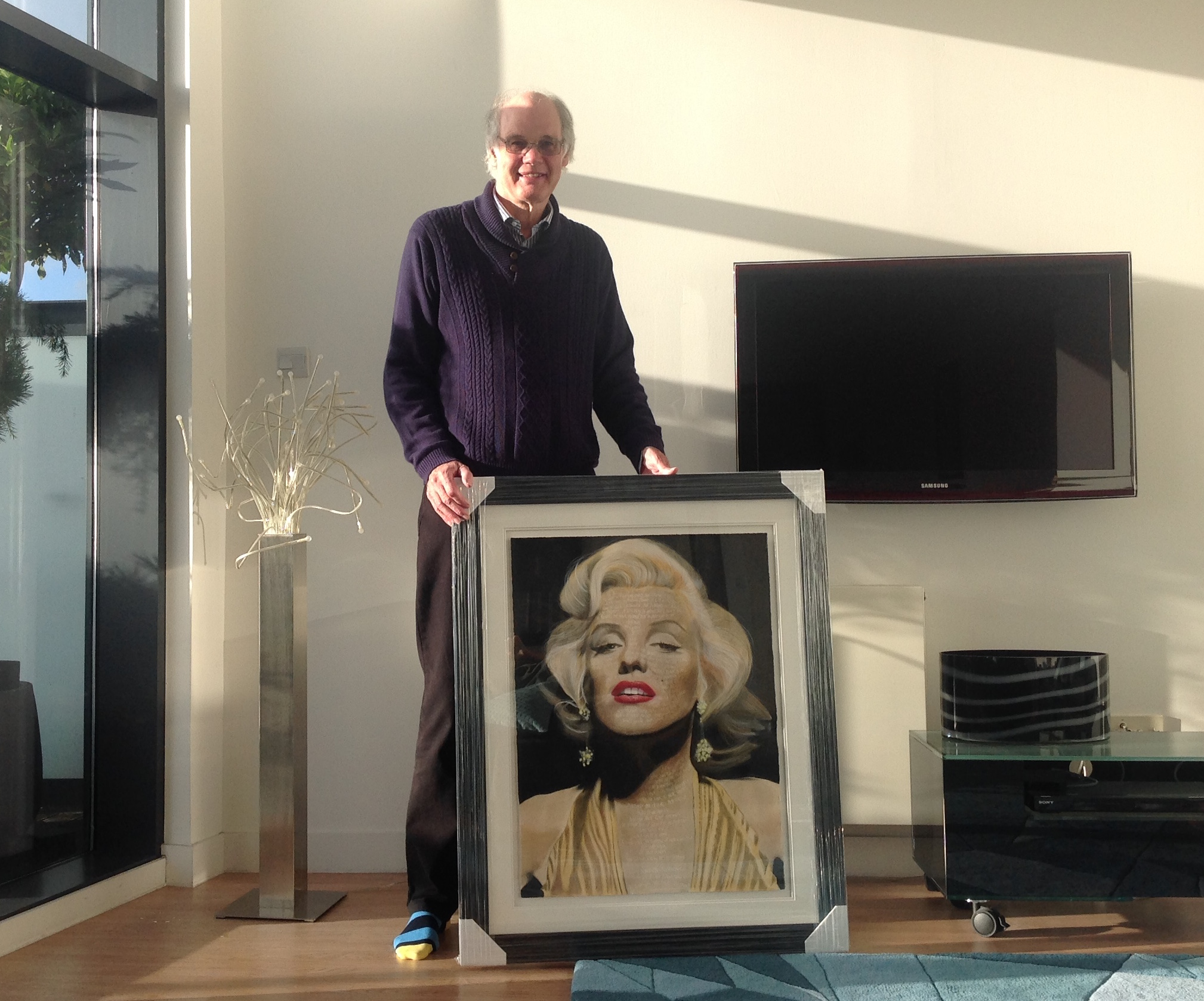Marilyn Monroe framed.JPG