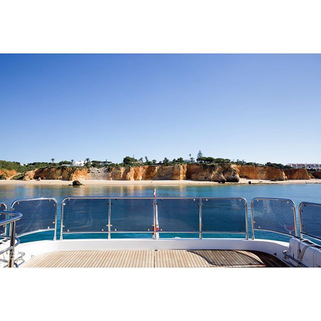 #alfiebuoy's 10 Most Memorable Charters of 2018:  #5 ⚓️ The warm and tranquil evenings we spent at anchor in the Algarve.  Near Porto Mao, Captain Greg caught a bass, Cambridge BBQ'd said bass, and our guests had a great time devouring the bass! Next time the Captain will try for a few sardines 🐟🐟🐟 https://alfiebuoy.com/  #luxurytravel #yachtcharter #portomao #vilamoura #algarve #portugal #fishing #spearfishing #happydays #sunseeker #mediterraneansea #adventure #alfiebuoycrew #sardines