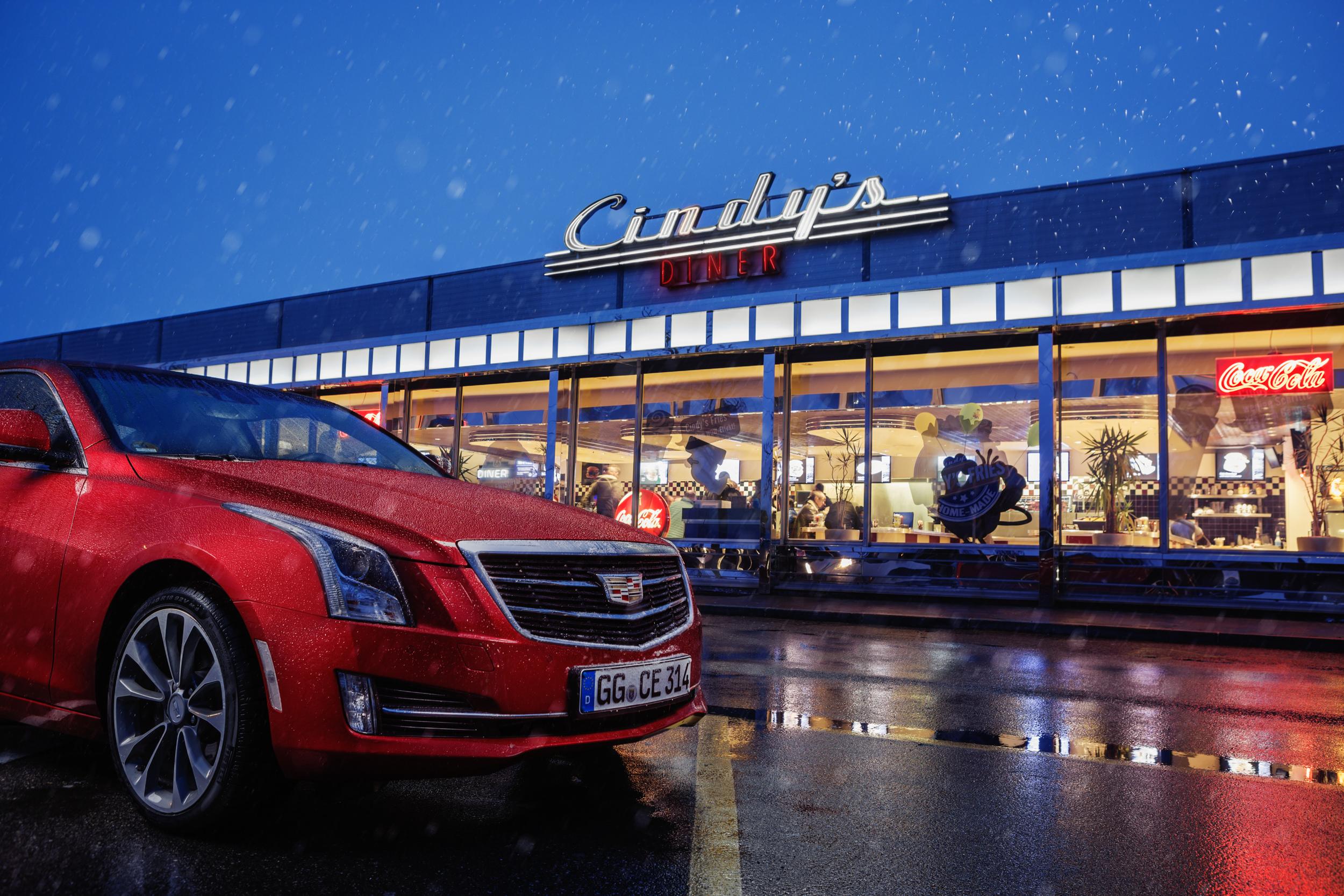 Cadillac ATS for Wheels!