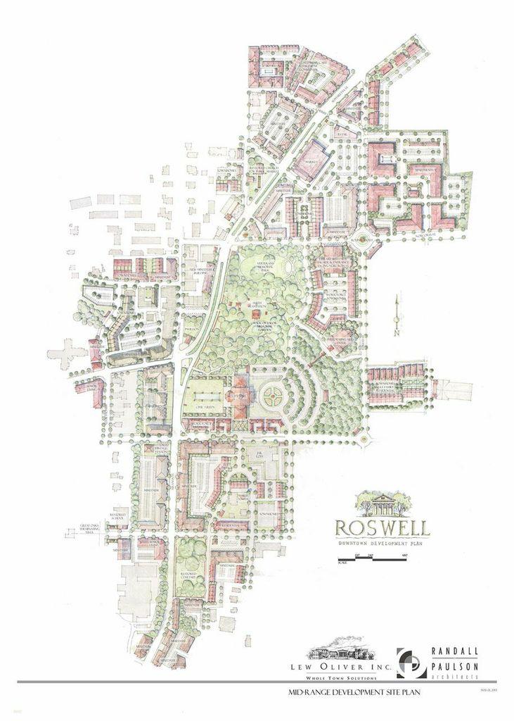 Mid Range Development Site Plan