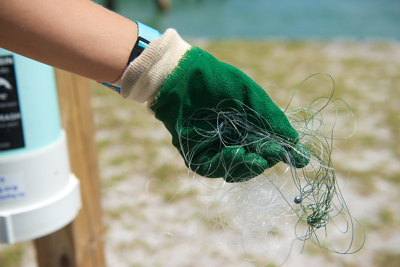 Monofilament Clean Up