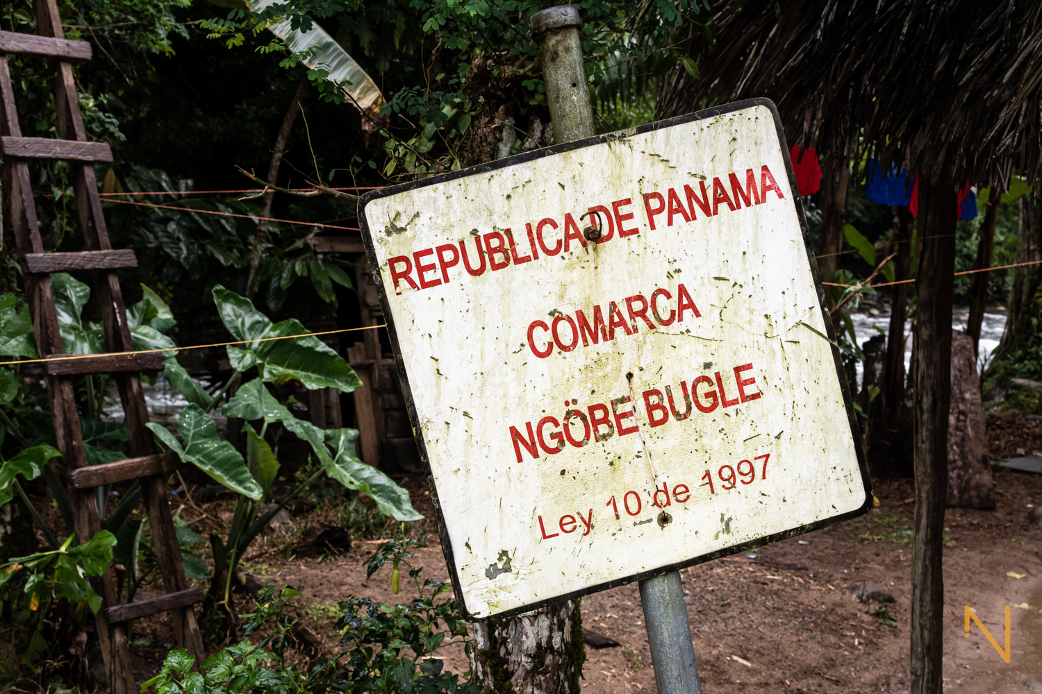 The delimitation of the comarca Ngäbe-Buglè in Norteño, Bocas del Toro.