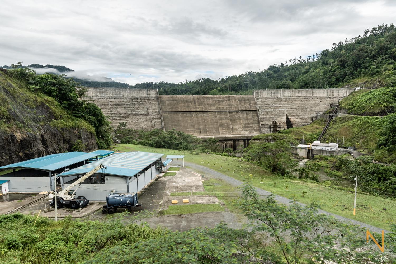 The Chan I dam in Valle de Risco, Bocas del Toro.