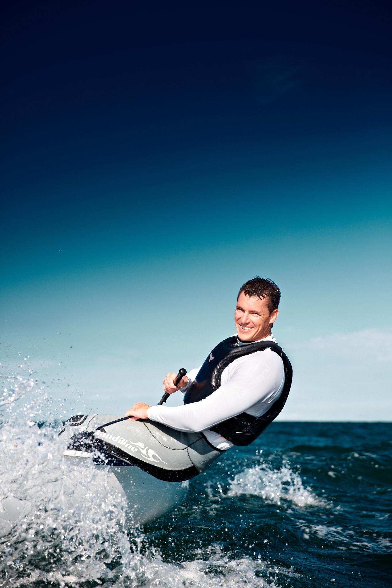 Slovenia Vasilij Zbogar Win Silver Sailing Men's Finn Rio 2016 Olympic Games