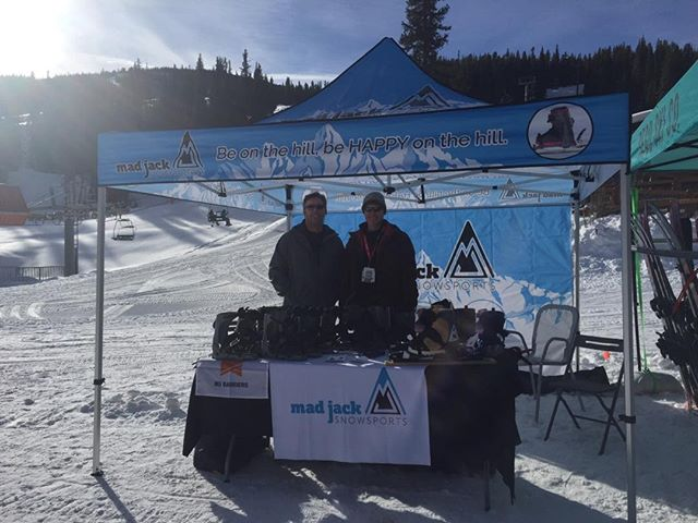 OnSnowDemo at Copper Mountain. Everyone is loving the MadJacks