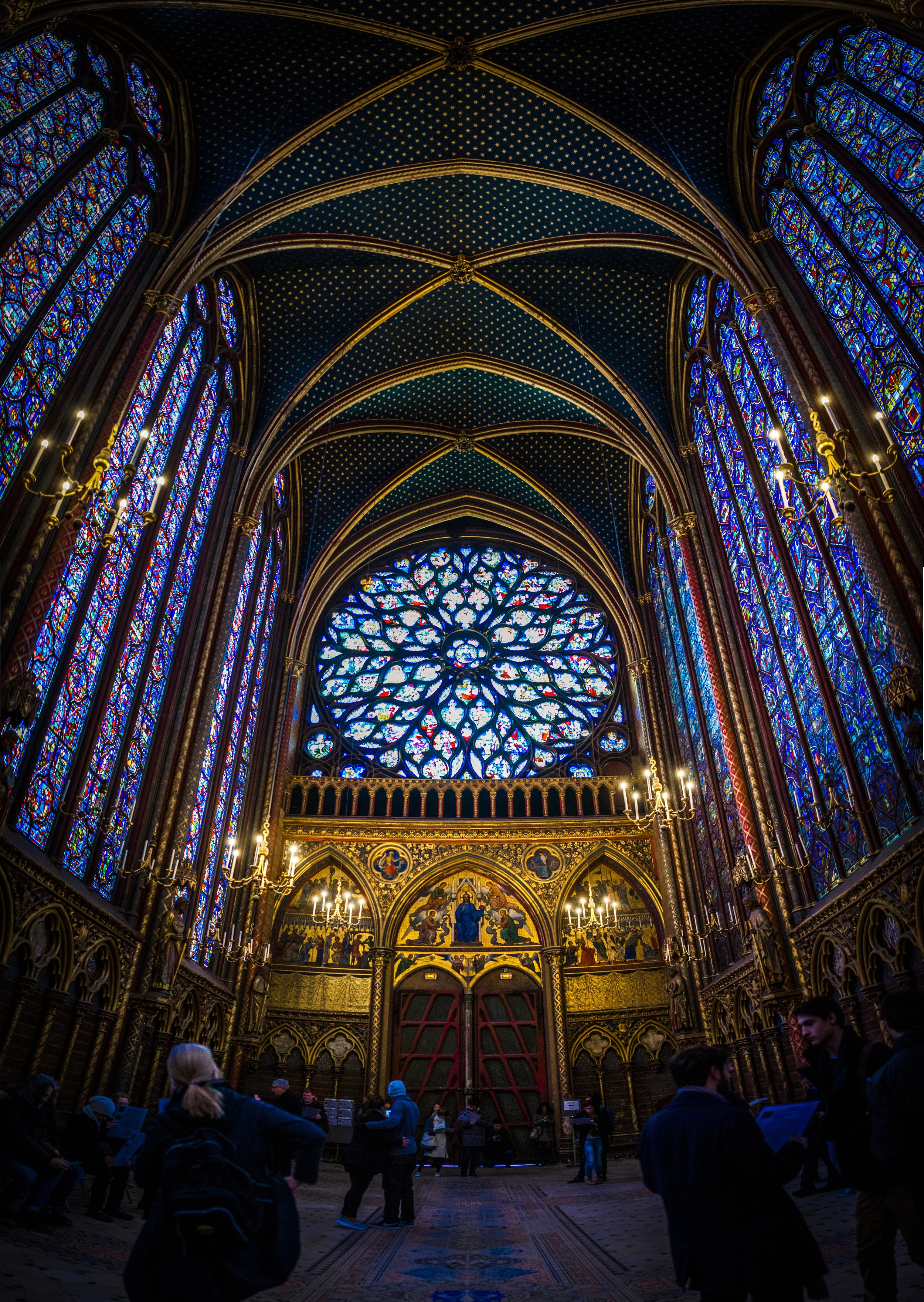 Sainte-Chapelle, Paris - France