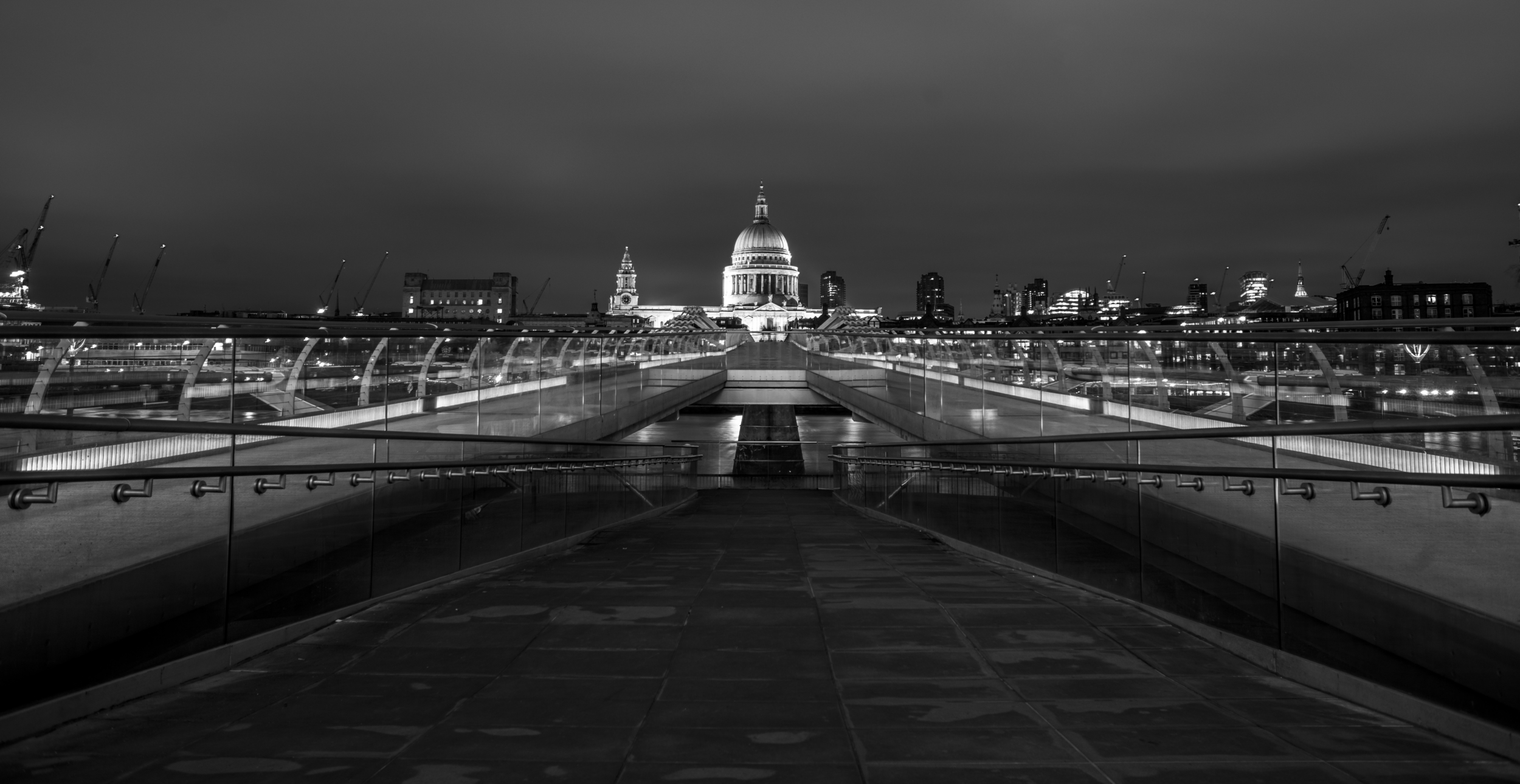 Millennium Bridge, London - England