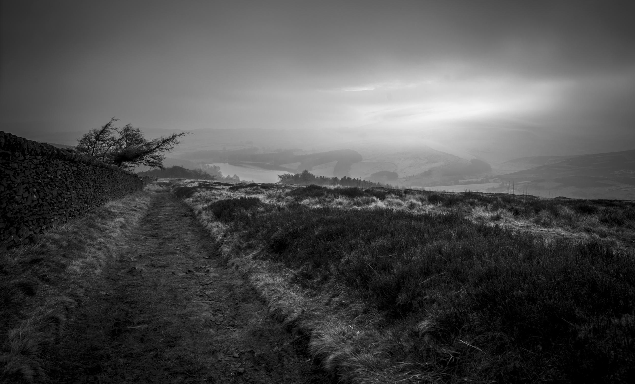 Shinig Tor, Peak District - England