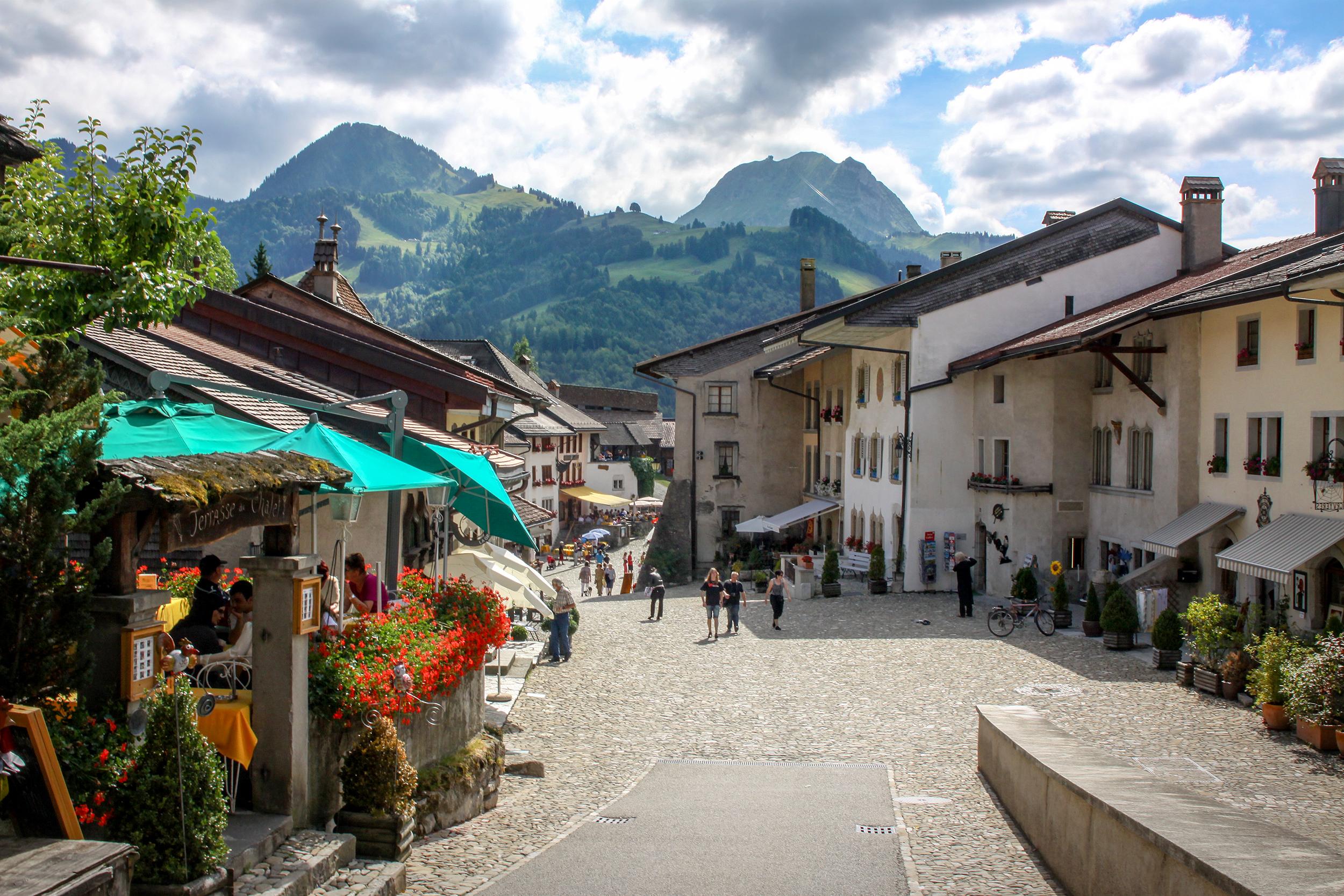 Switzerland - Gruyeres