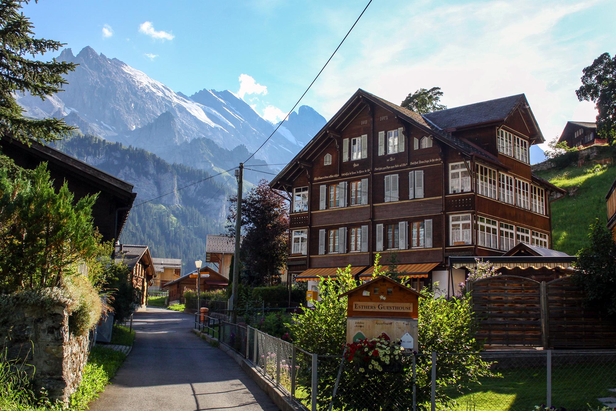 Switzerland - Mürren area