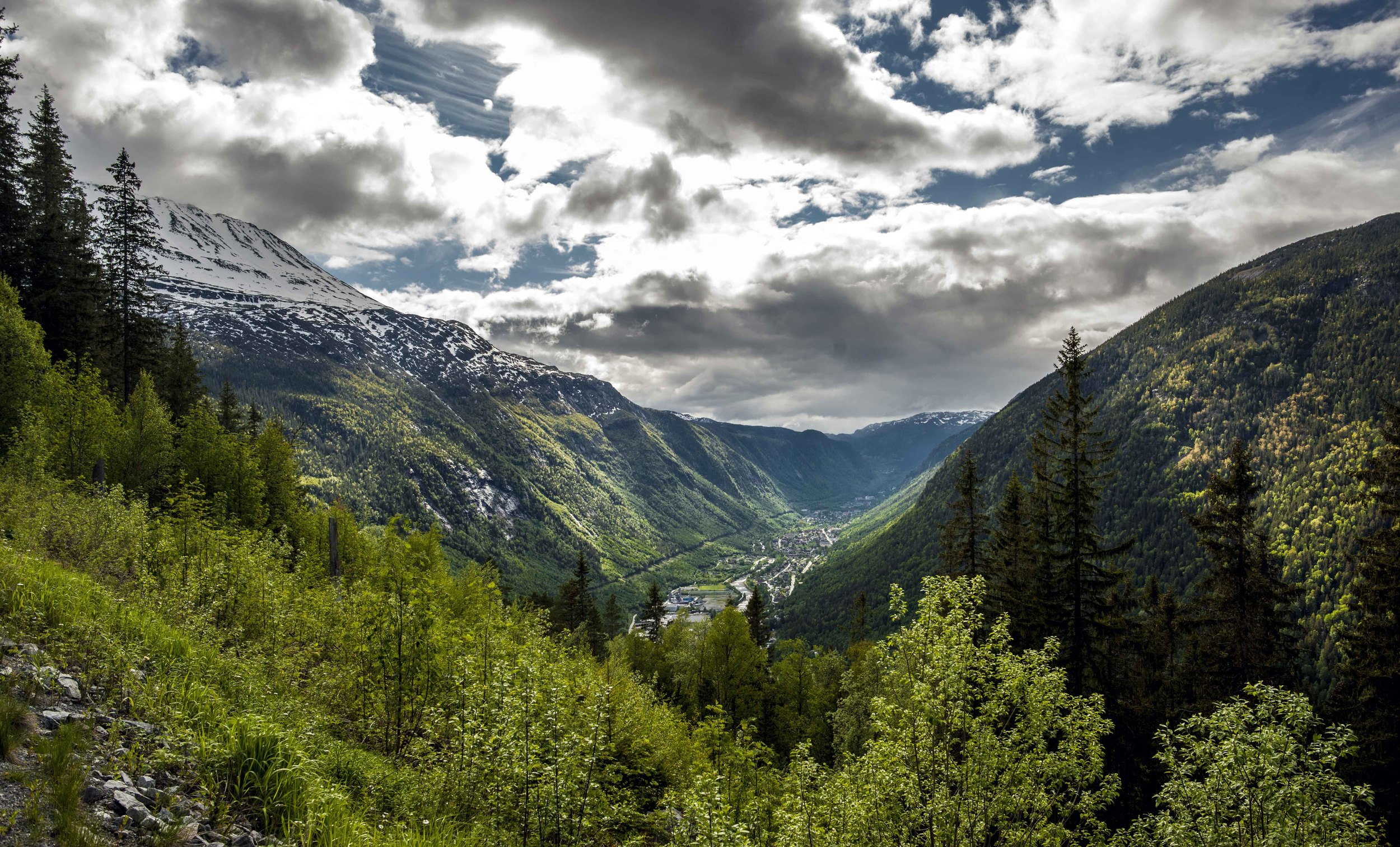 Part view of Rjukan