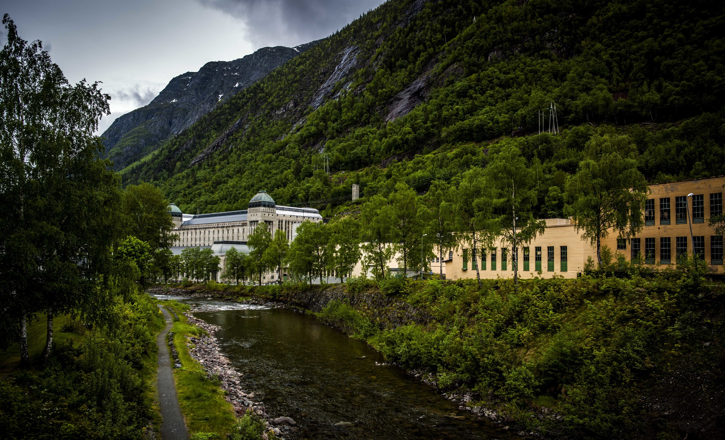 Saaheim power plant in Rjukan
