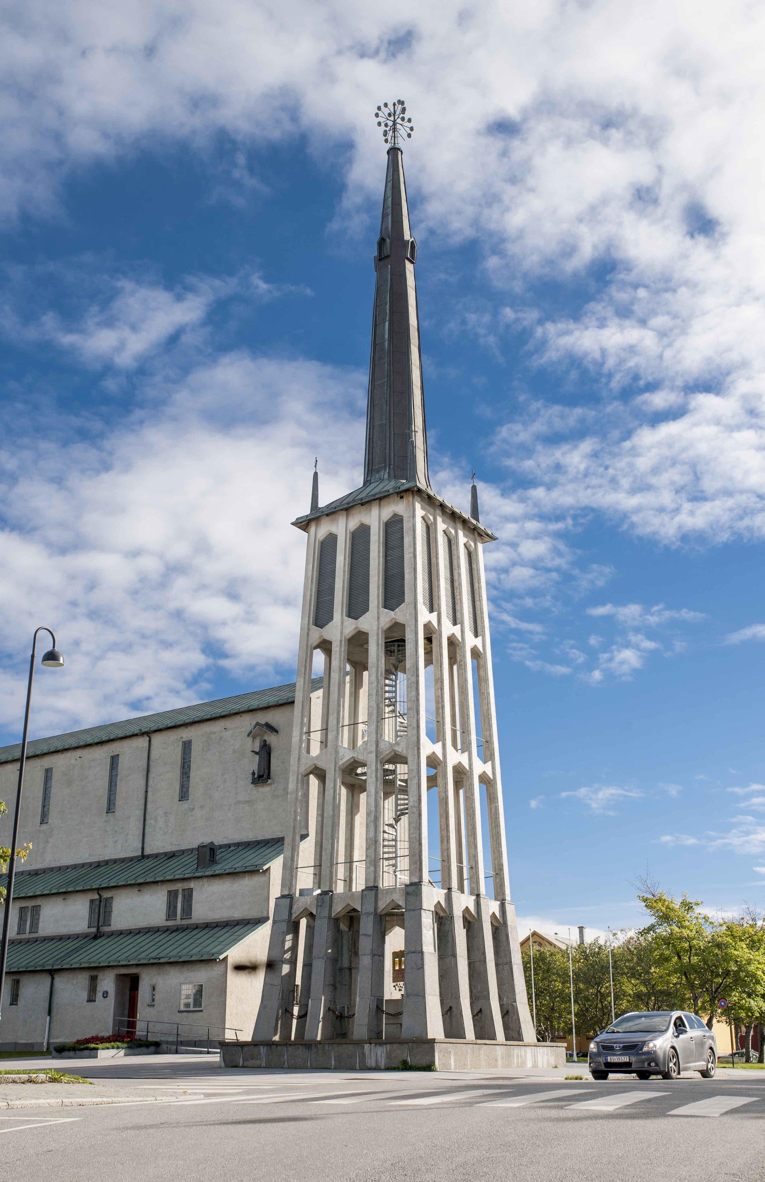 Bodø church tower