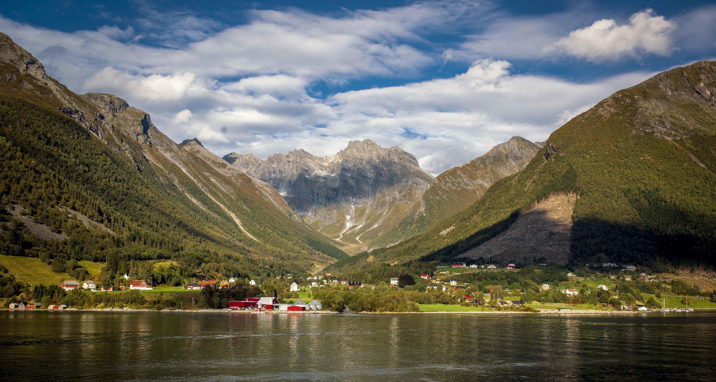 Hjørunnfjord, Norway