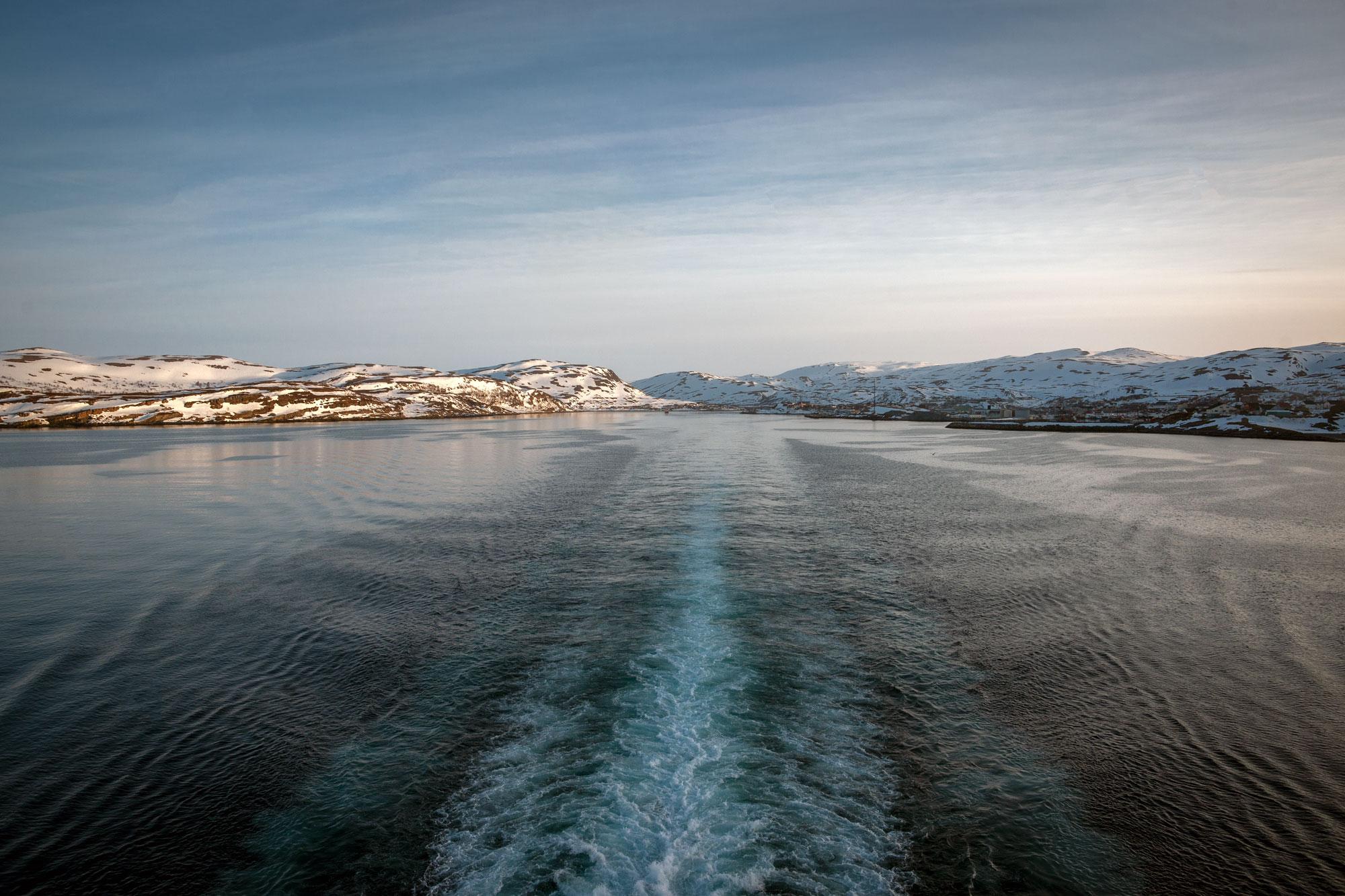 Leaving Vardø