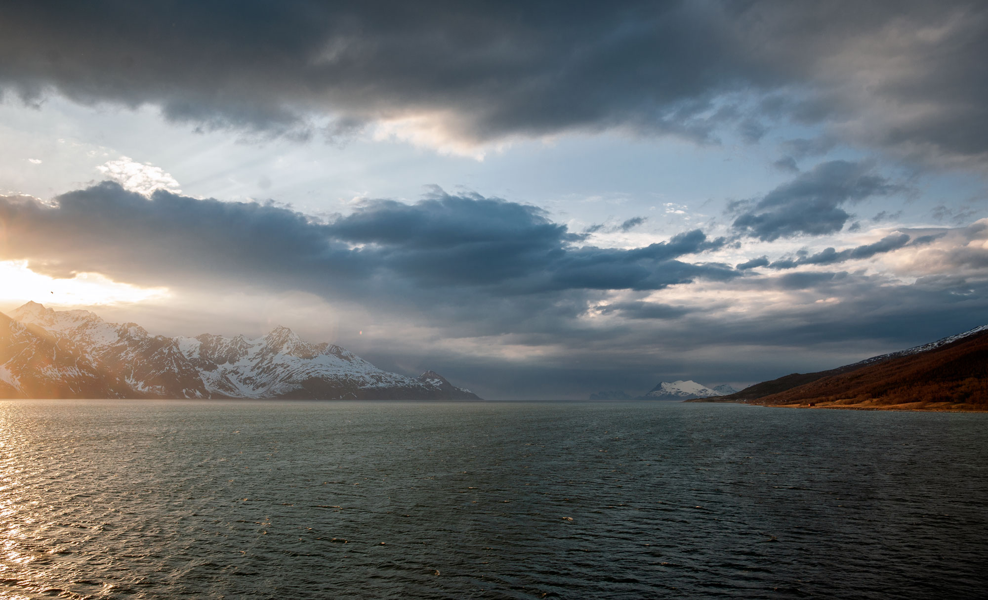 Somewhere between Finnmark and Troms