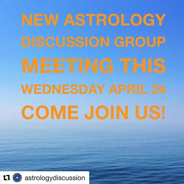 We would love to have you this Wednesday 7pm to 8:30pm - follow us at @astrologydiscussion #Repost @astrologydiscussion ・・・ Come on over to our #astrologydiscussiongroup monthly meeting this Wednesday April 24- address in bio 👆🏽 $15 door fee- bring your chart if you like (go to astro.com to generate a free chart) We will be discussing current transits, selected charts and astrology topics. All levels of knowledge are welcome. Hosted by Laura Boone of @therealetherealshow and fellow astrologer Ashley Marie Adams @storybird73 #atlastrology #atlantaastrology #astrology #astrologydiscussion
