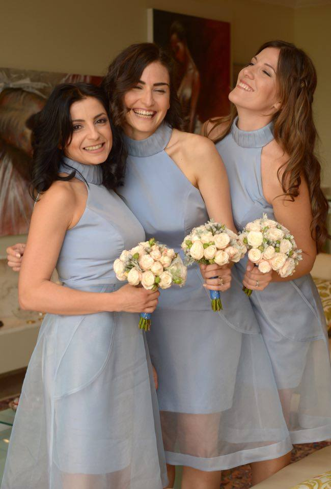 Being a bridesmaid at Corinne's wedding was a dream come true Photo by Matthew Mirabelli Photography