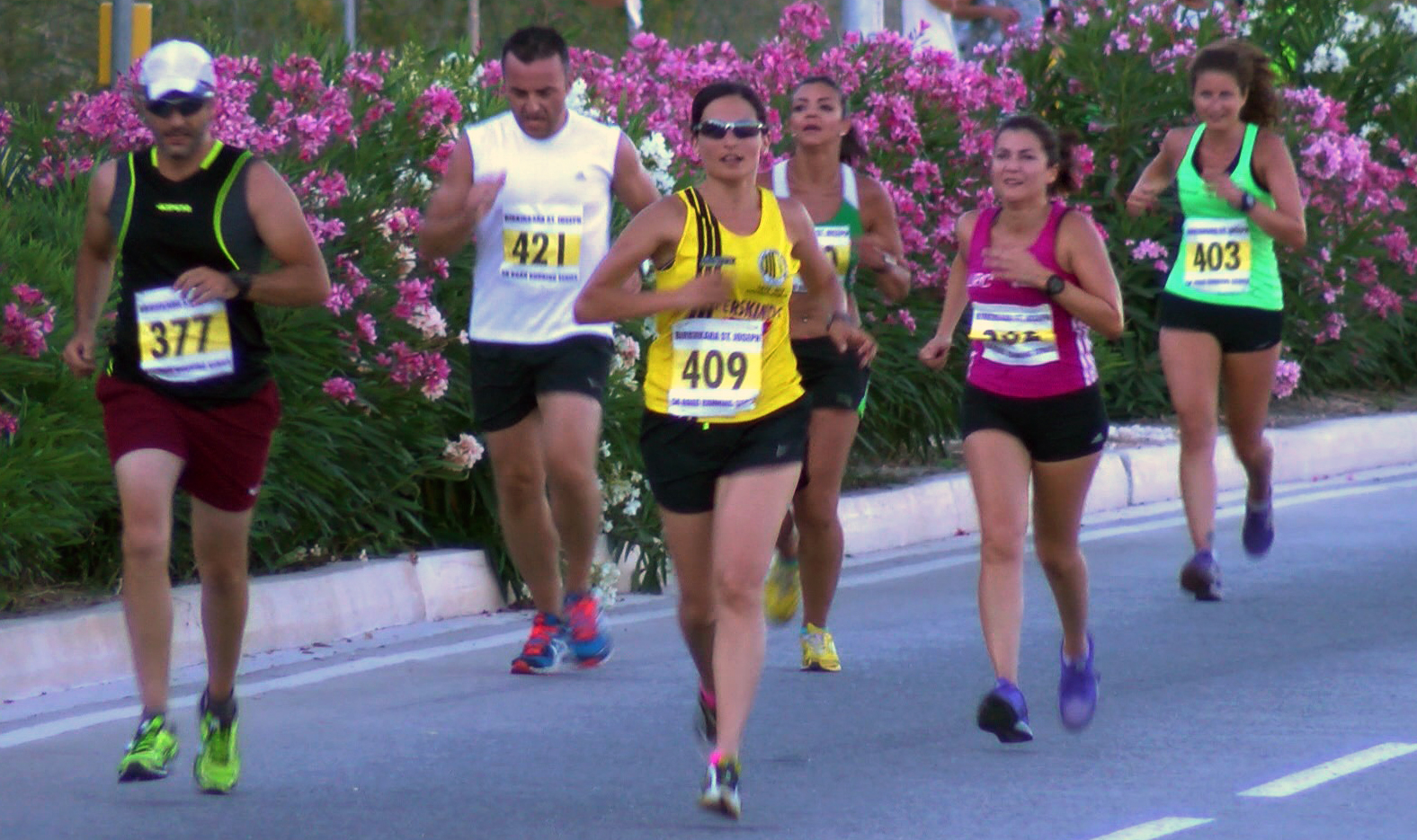 Taking part in a 5 km race 6 months after starting DNRS  PHOTO BY BIRKIRKARA ST. JOSEPH SPORTS CLUB/MULTISPORT