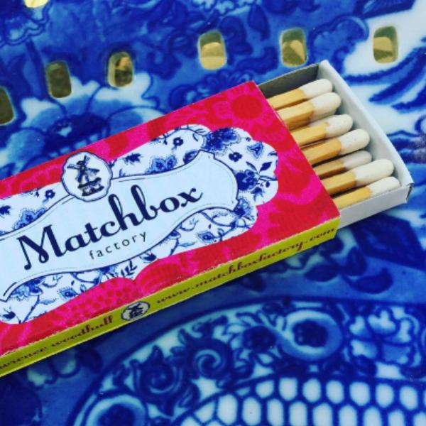 matchbox factory business card