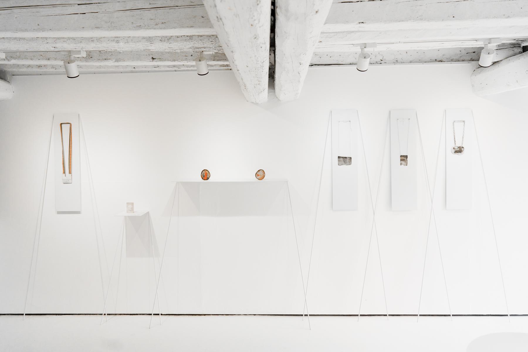 Exhibition view, Isabel Dammermann,  Treasuries&Transience , 2016, OHMYBLUE, Venice, Italy, photo: Riccardo Banfi