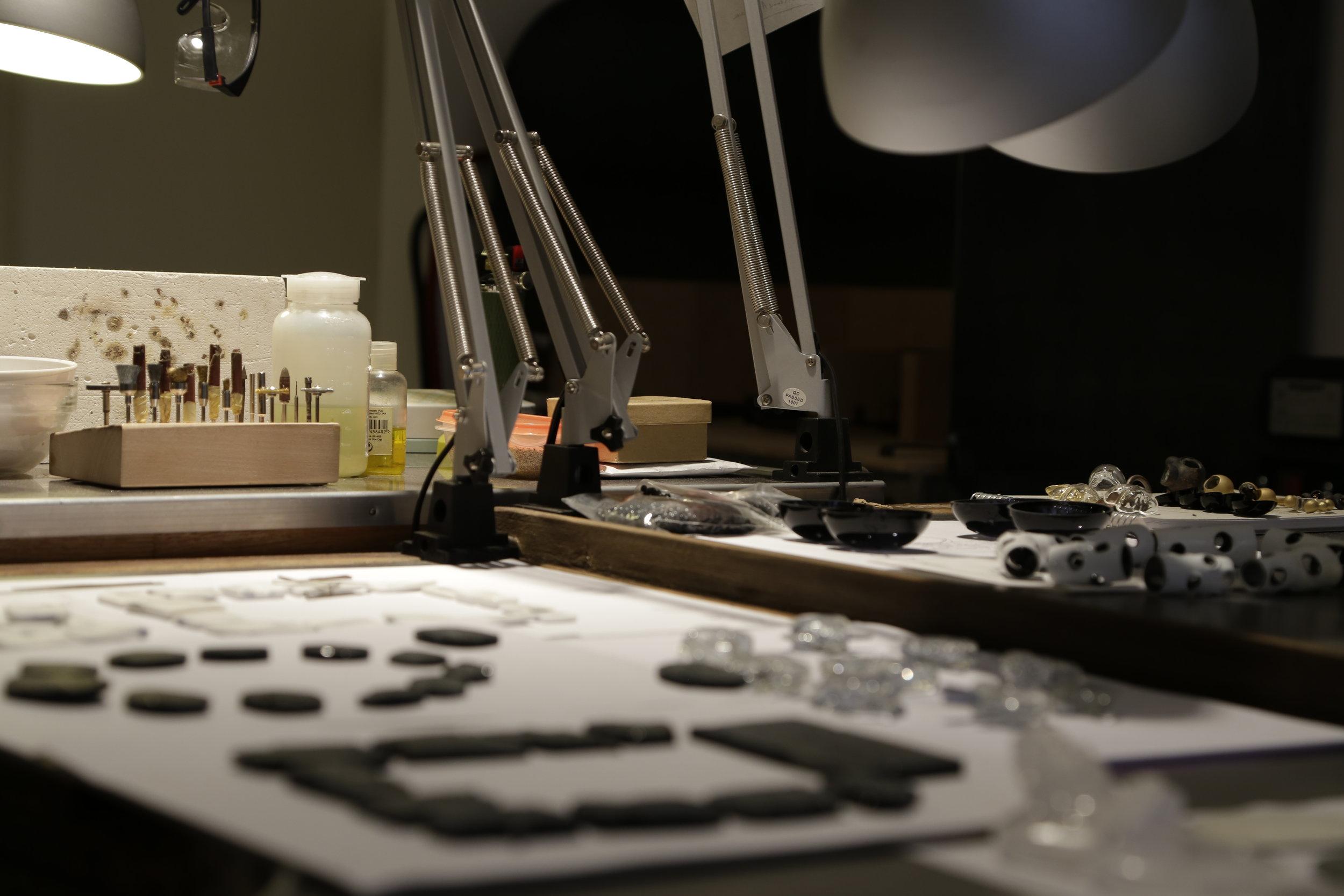 Inside Federica Sala's studio - detail