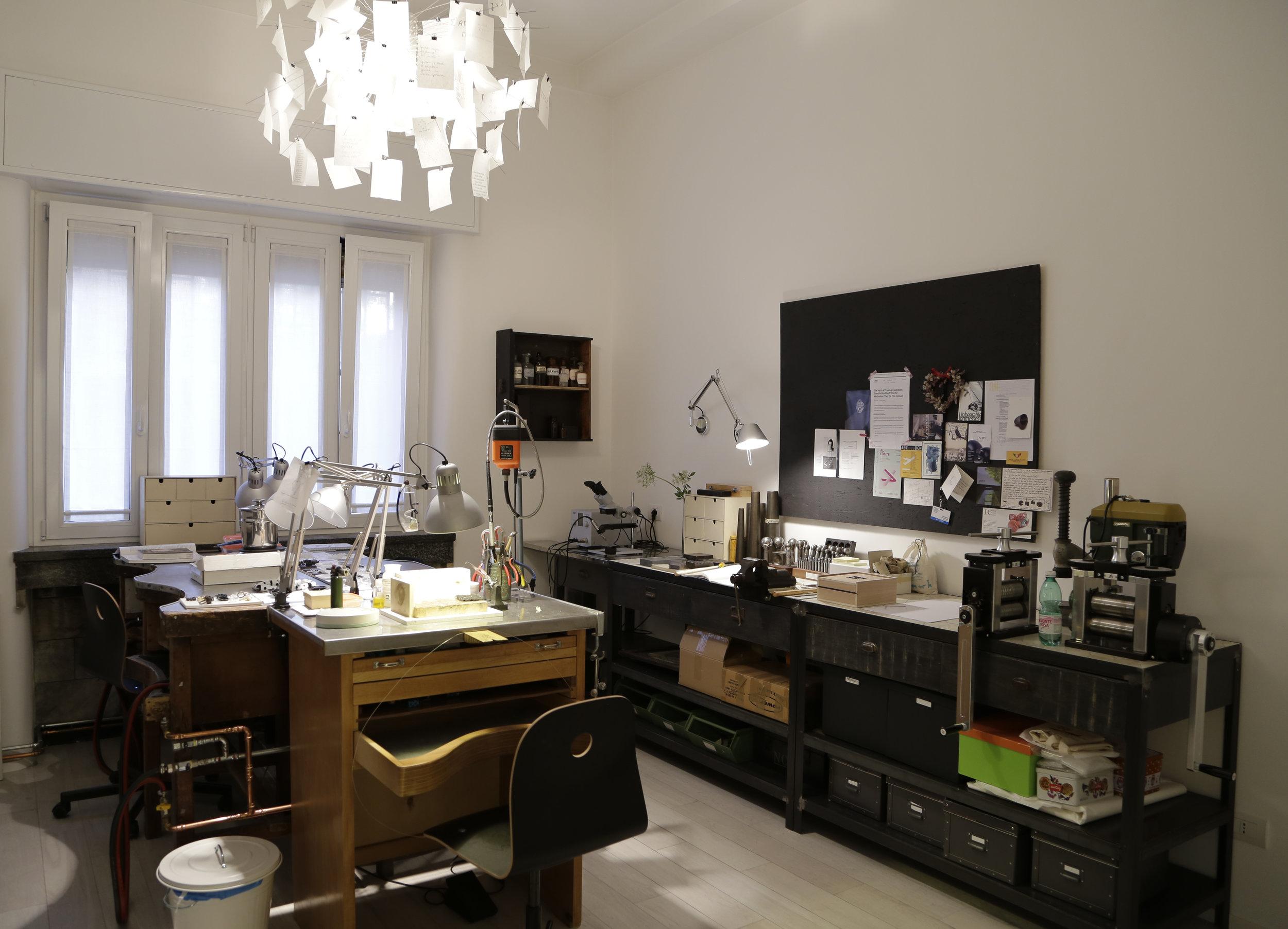 Inside Federica Sala's studio