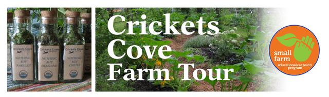 Organic Farming Workshop at Crickets Cove Farm