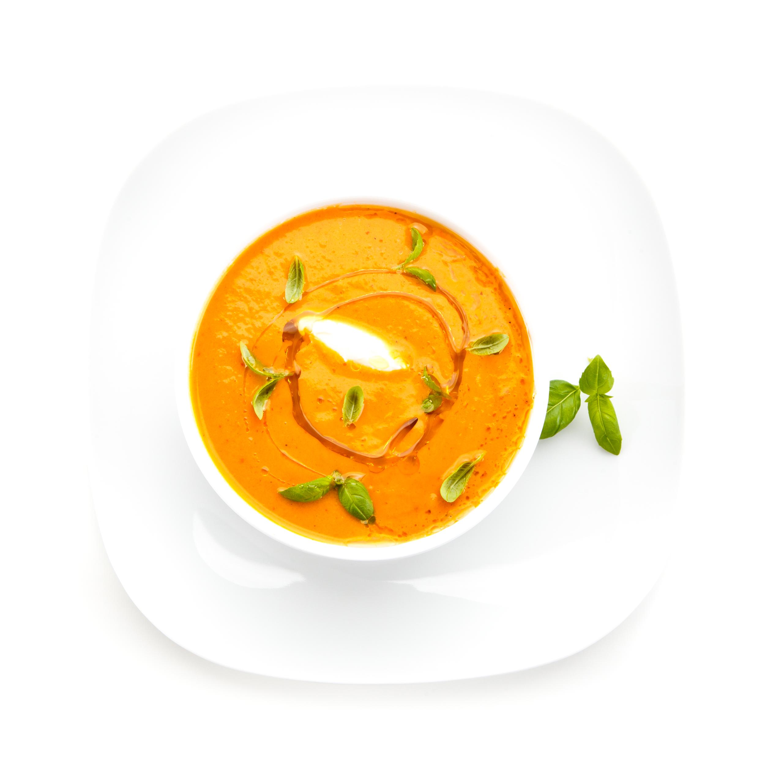 Carrot, Ginger, & Coconut Milk Soup