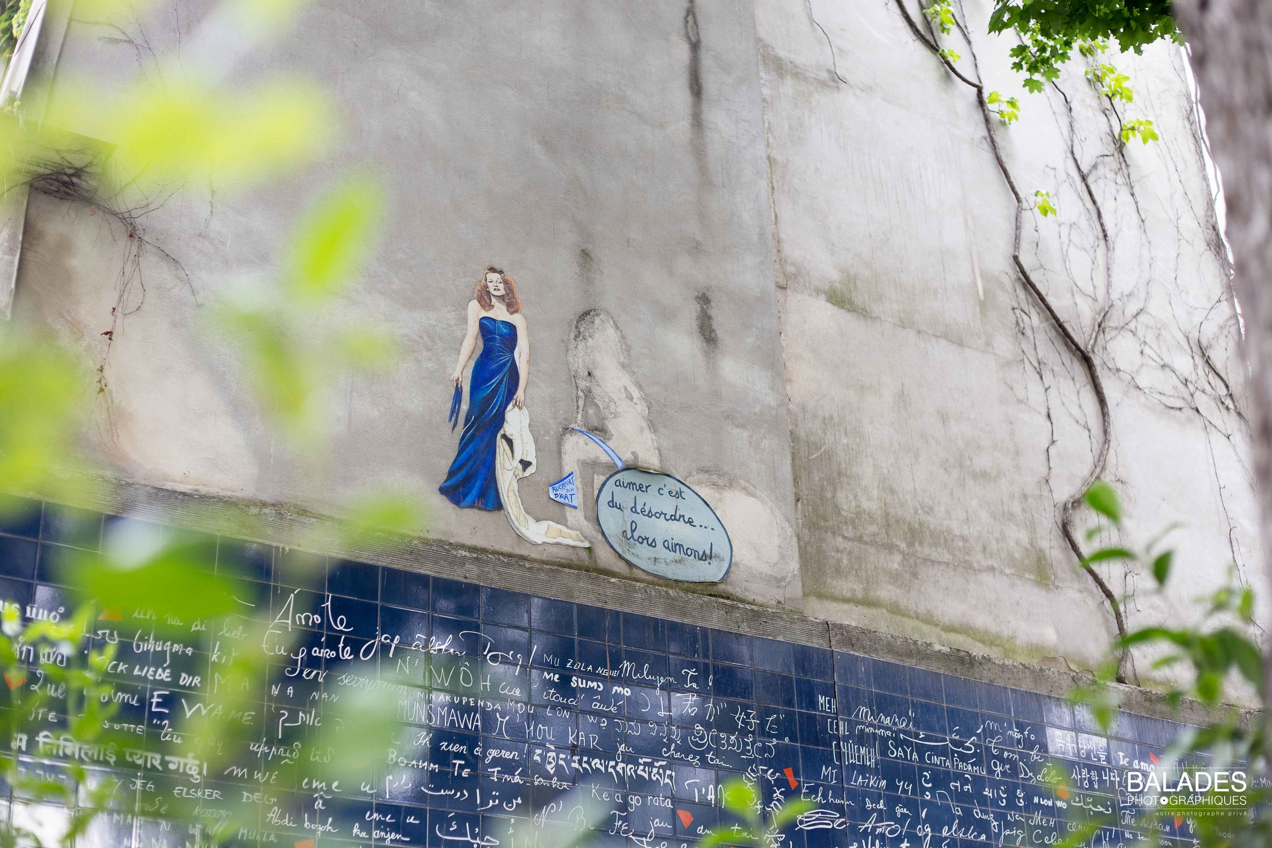 SNAPSHOTS OF MONTMARTRE - 20 JULY