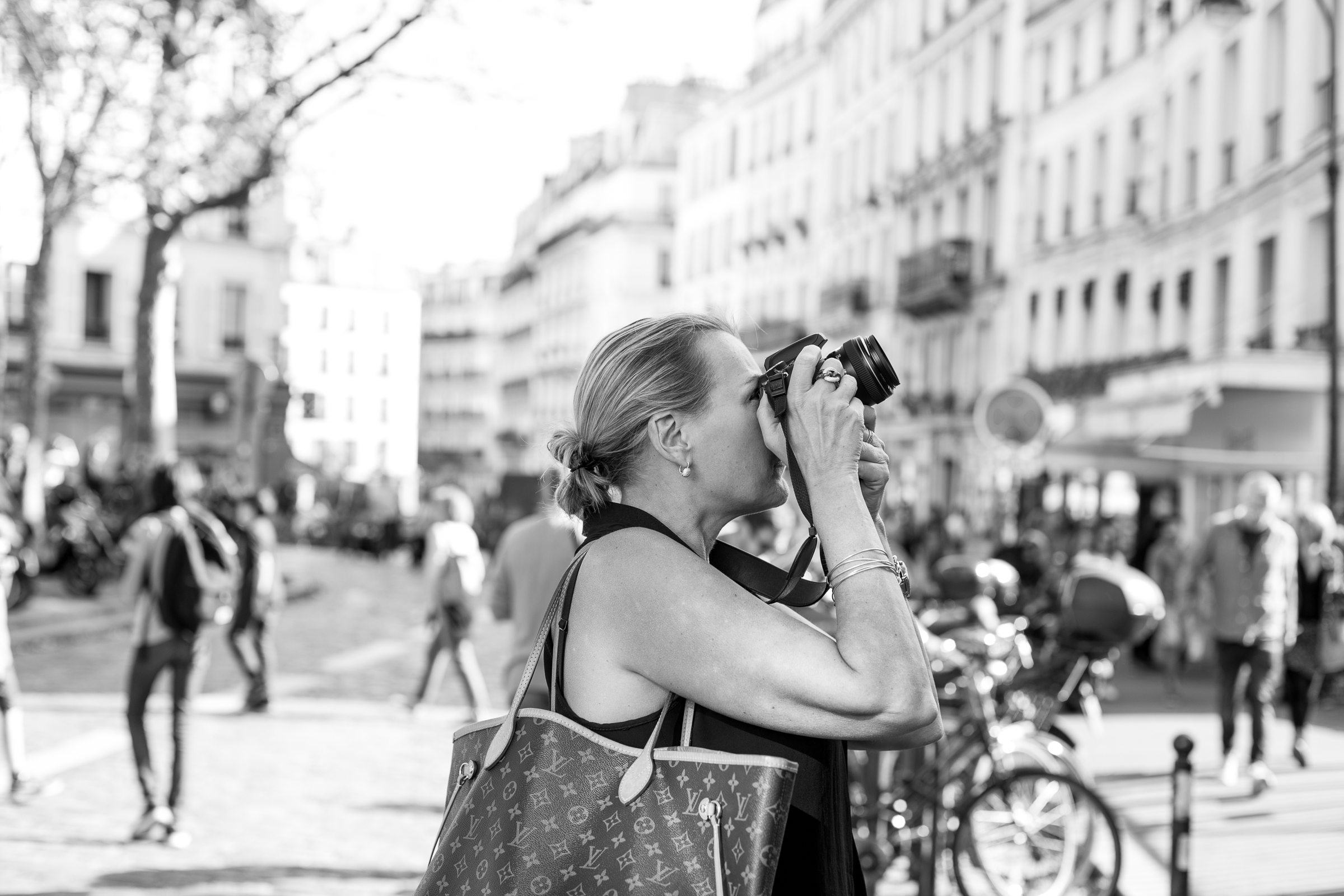 SNAPSHOTS OF MONTMARTRE - 17 OCT