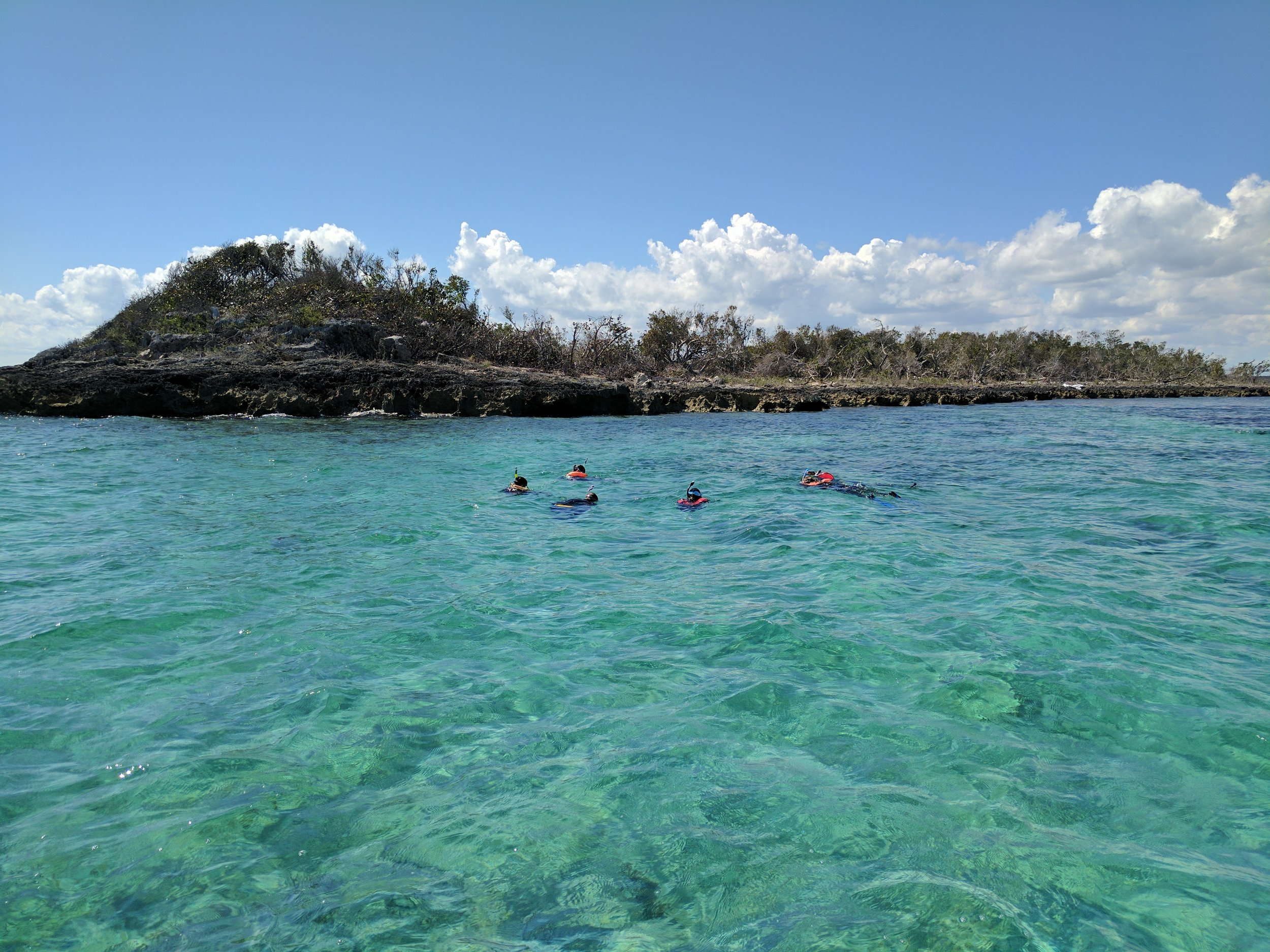 Rat Cay Snorkel (Oceanic Blue Hole)