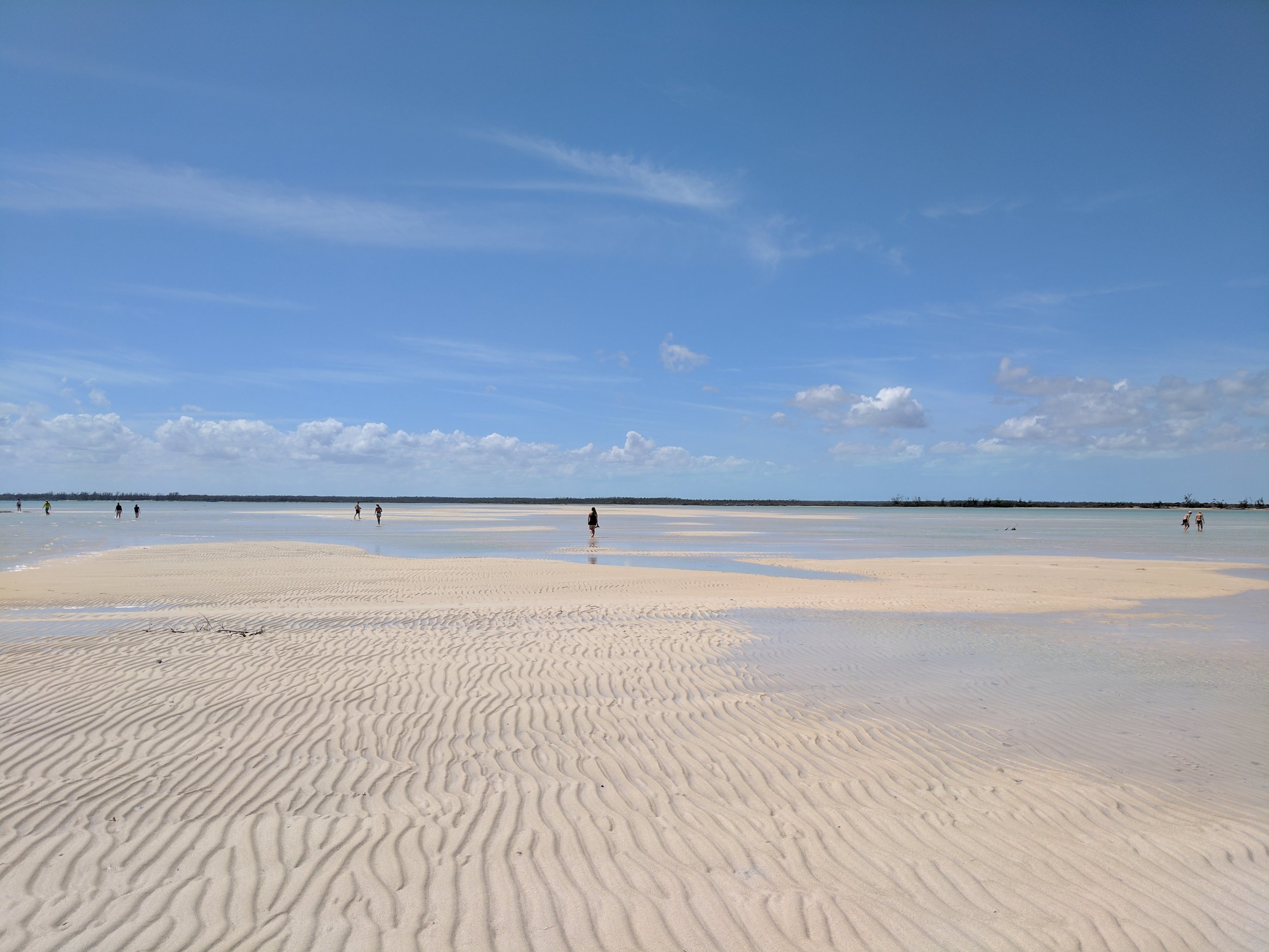 Low Tide at Saddleback Cay