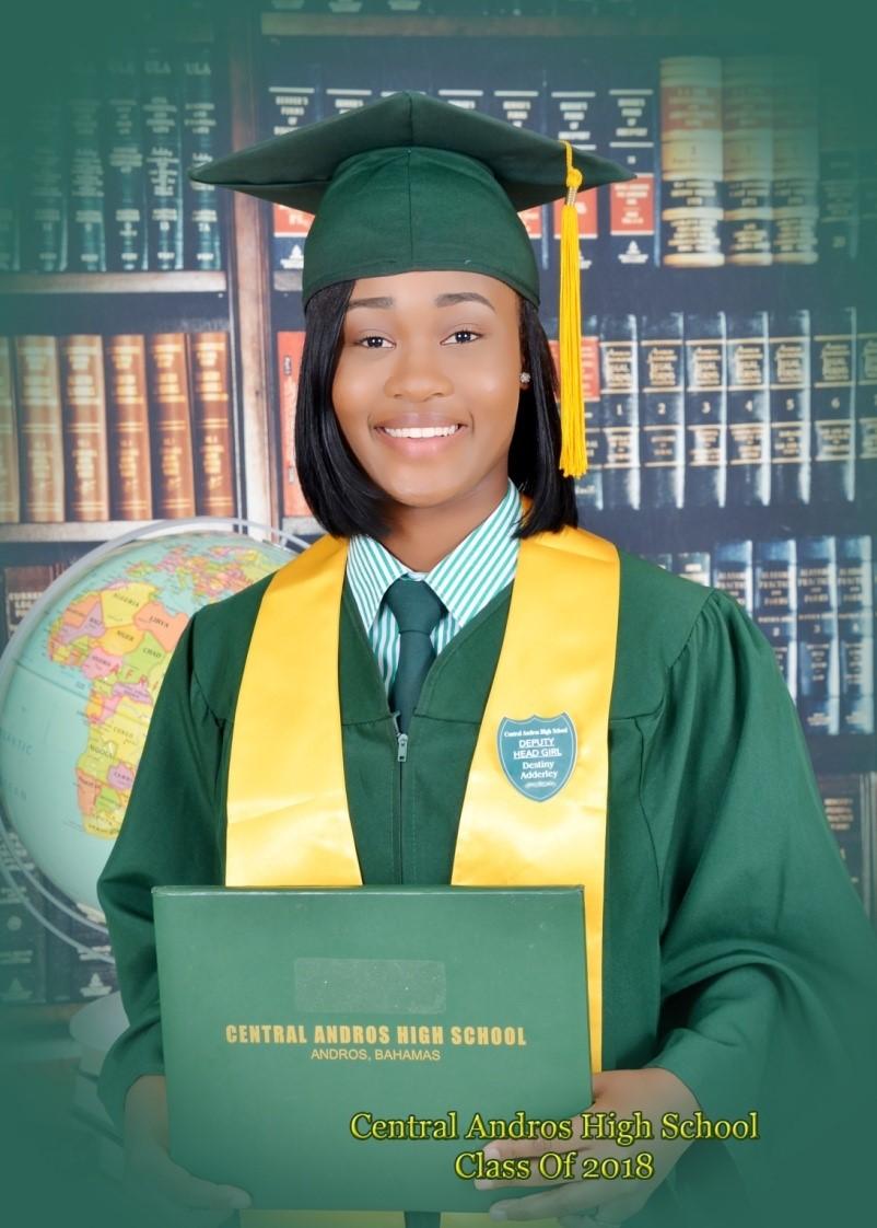 Destiny Adderley - Class Valedictorian