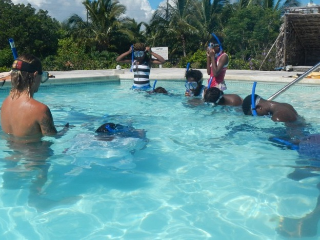 New Recruits for the Bahamas National Trust Navigator Program - August 2014, Blue Project Foundation Atlantis