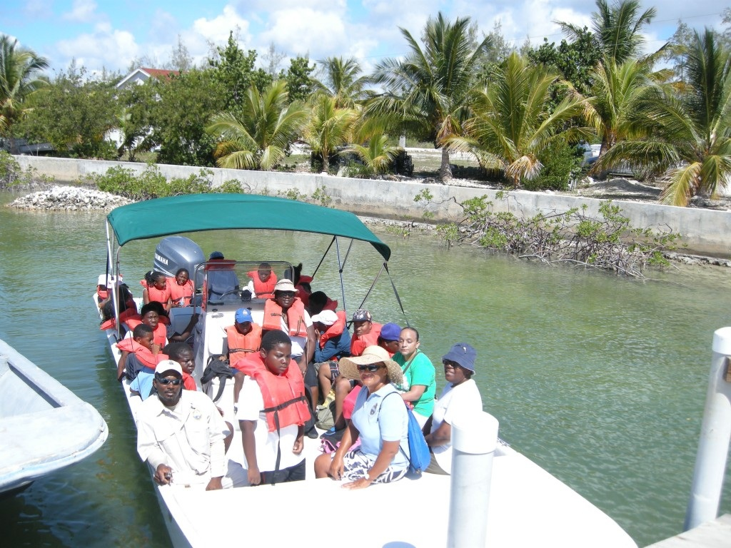 Androsian Children Experience the BNT's Camp Safari - August 2015, The Bahamas Journal