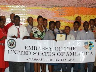 St. Anne's School wins U.S. Embassy sponsored Alternative Energy competition for high school students - November 2009, The Bahamas Weekly