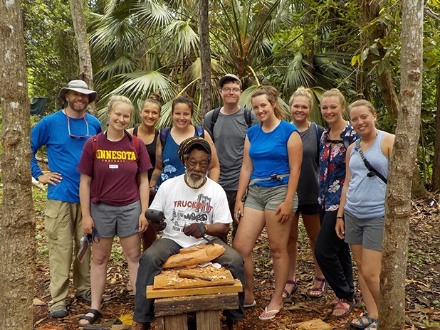 Students assist with tropical restoration efforts in the Bahamas - July 2019, University of Wisconsin River Falls News