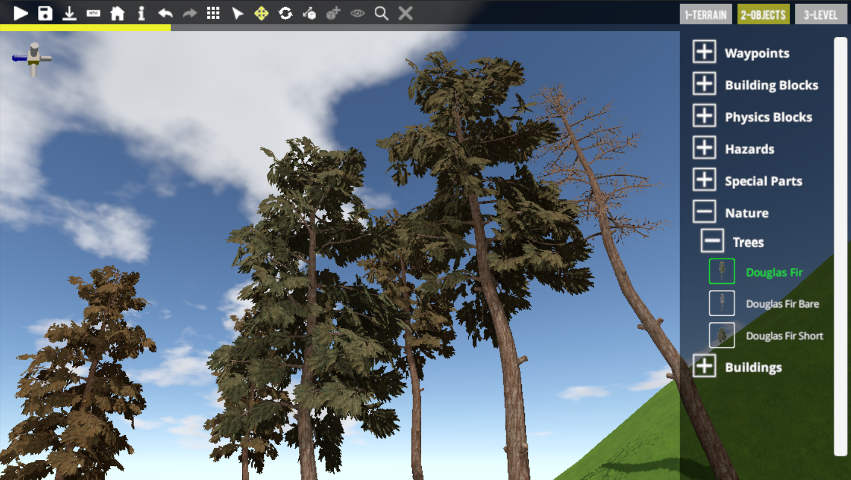 Spruce up your levels with some Spruce trees! ... err... Douglas Fir trees