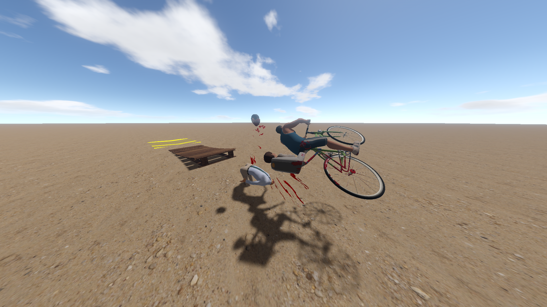 High speed bike decapitation moves yo